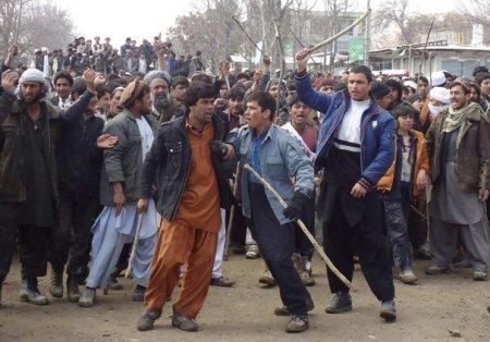 Симпатии полиции Кабула на стороне протестующих, возмущенных сожжением Корана